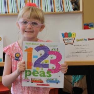 1000 Books Before Kindergarten Chloe